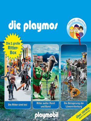cover image of Die Playmos--Das Original Playmobil Hörspiel, Die grosse Ritterbox 2