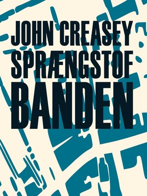 cover image of Sprængstofbanden