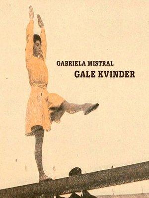 cover image of Gale kvinder