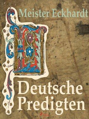 cover image of Deutsche Predigten