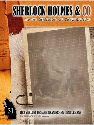 cover image of Sherlock Holmes & Co, Folge 31