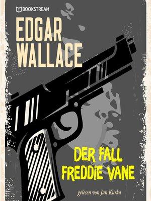 cover image of Der Fall Freddie Vane