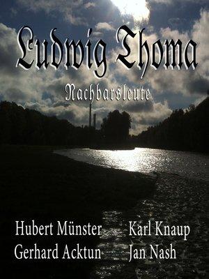 cover image of Nachbarsleute (Hörspiel)