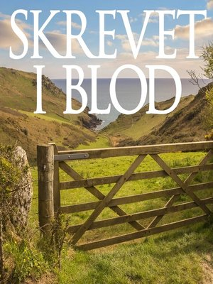 cover image of Skrevet i blod--Barnaby Crimes 1