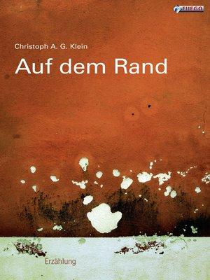 cover image of Auf dem Rand