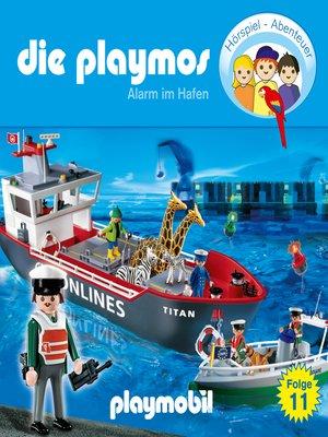cover image of Die Playmos--Das Original Playmobil Hörspiel, Folge 11