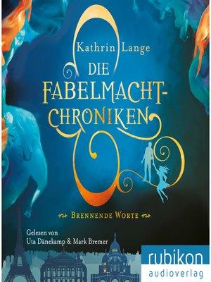 cover image of Die Fabelmacht-Chroniken