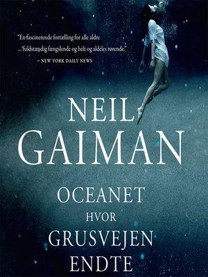 cover image of Oceanet hvor grusvejen endte