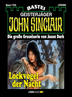 cover image of John Sinclair, Band 1706