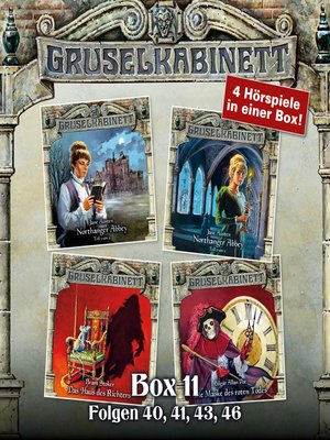 cover image of Gruselkabinett, Box 11
