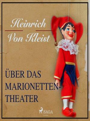 cover image of Über das Marionettentheater (Ungekürzt)