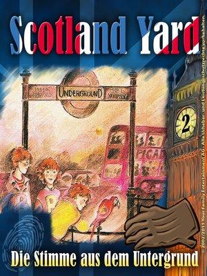 cover image of Scotland Yard, Folge 2