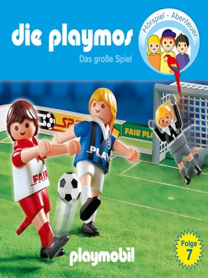 cover image of Die Playmos--Das Original Playmobil Hörspiel, Folge 7