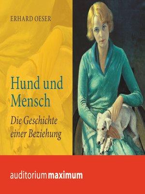 cover image of Hund und Mensch