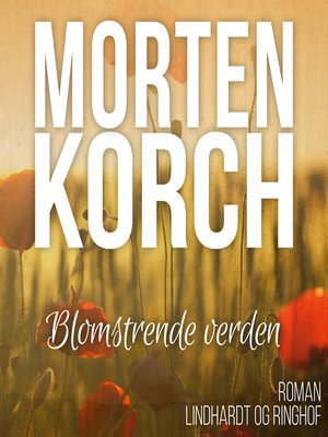 cover image of Blomstrende verden