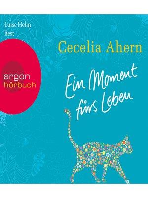 cover image of Ein Moment fürs Leben