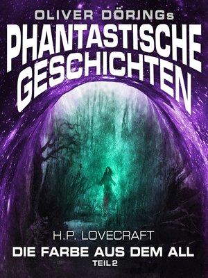 cover image of Phantastische Geschichten, Teil 2