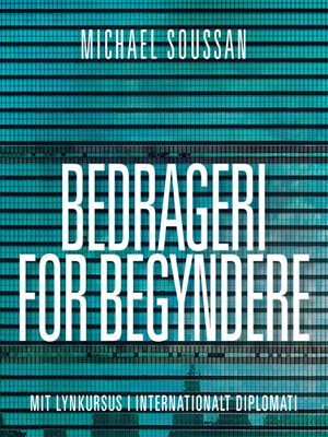 cover image of Bedrageri for begyndere