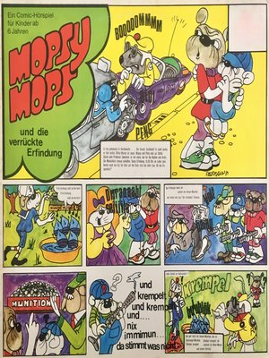 cover image of Mopsy Mops, Folge 3