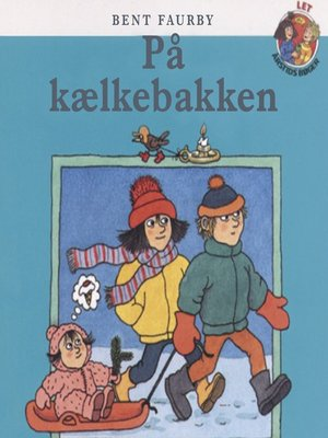 cover image of På kælkebakken