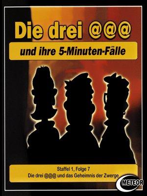 cover image of Die drei @@@ (Die drei Klammeraffen), Staffel 1, Folge 7