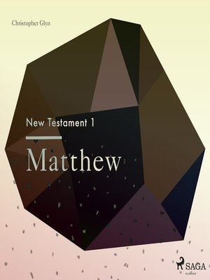 cover image of Matthew--The New Testament 1