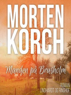 cover image of Manden på Brusholm