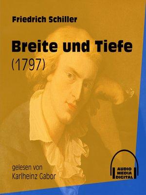 cover image of Breite und Tiefe--Ballade 1797