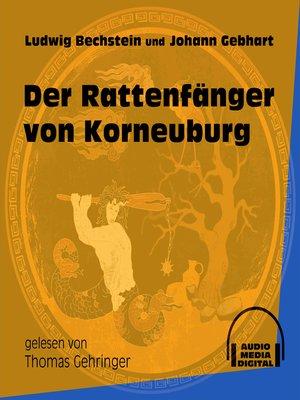 cover image of Der Rattenfänger von Korneuburg