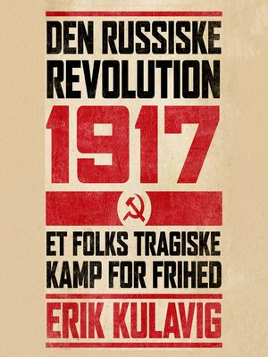 cover image of Den russiske revolution 1917