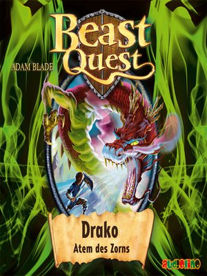 cover image of Draco, Atem des Zorns--Beast Quest 23