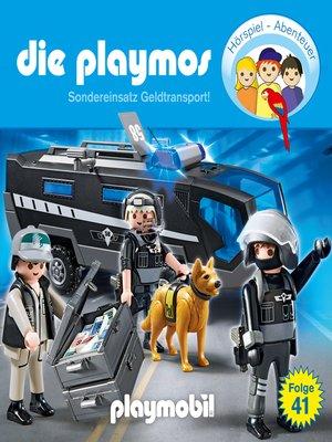 cover image of Die Playmos--Das Original Playmobil Hörspiel, Folge 41