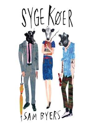 cover image of Syge køer