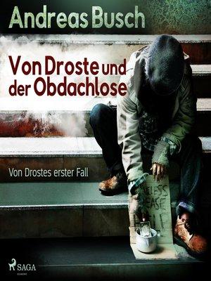 cover image of Von Droste und der Obdachlose