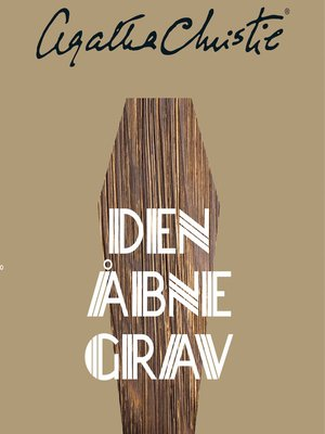cover image of Den åbne grav