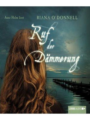 cover image of Ruf der Dämmerung