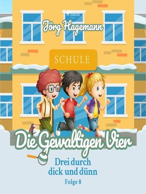 cover image of Drei durch dick und dünn, Folge 8