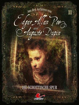 cover image of Edgar Allan Poe & Auguste Dupin, Aus den Archiven, Folge 11