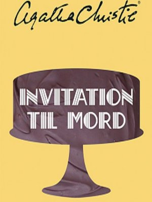 cover image of Invitation til mord