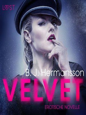 cover image of Velvet--Erotische Novelle (Ungekürzt)