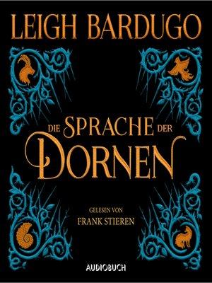 cover image of Die Sprache der Dornen