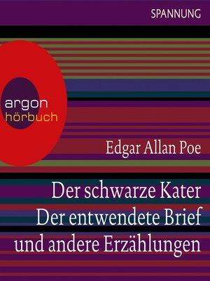 cover image of Der schwarze Kater, Der entwendete Brief u.a.