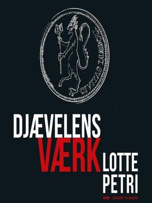 cover image of Djævelens værk