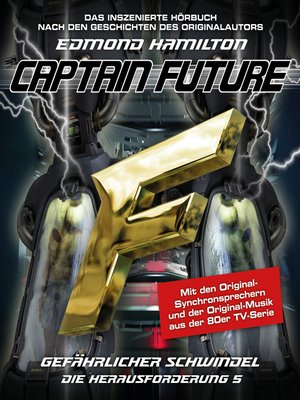cover image of Captain Future, Die Herausforderung, Folge 5