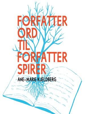 cover image of Forfatterord til forfatterspirer