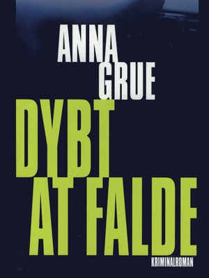 cover image of Dybt at falde