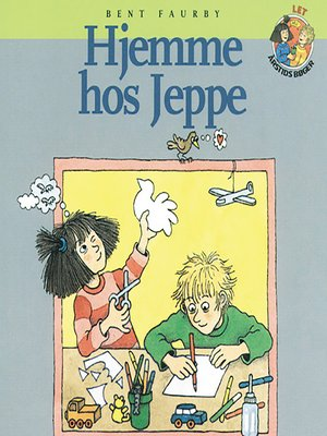 cover image of Hjemme hos Jeppe