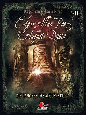 cover image of Edgar Allan Poe & Auguste Dupin, Folge 11