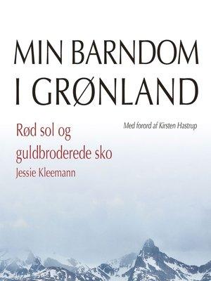 cover image of Rød sol og guldbroderede sko