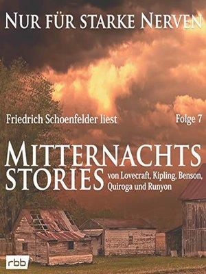 cover image of Mitternachtsstories von Lovecraft, Kipling, Benson, Quiroga, Runyon